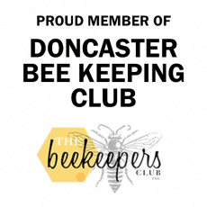 Member of Doncaster Bee Keeping Club
