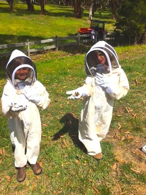 Children's beekeeping suit