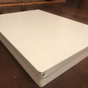 Hive Lid – 8 FRAME – ASSEMBLED, WAX DIPPED & PAINTED