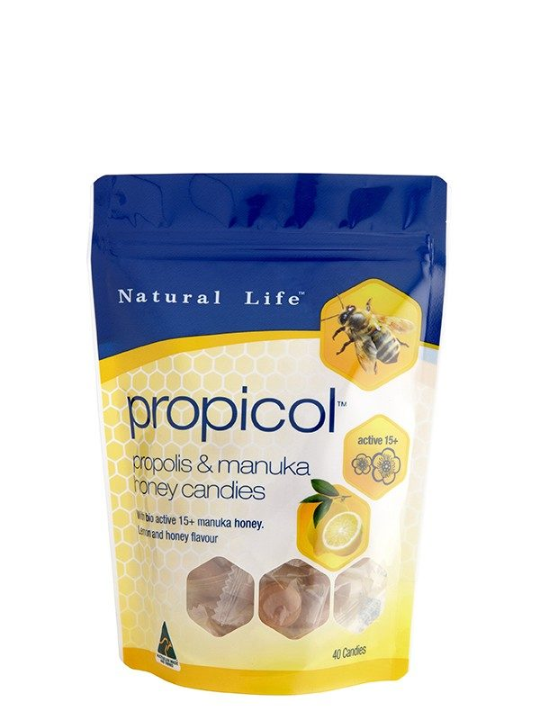 Natural Life™ Propolis & Manuka Honey Candy 100g