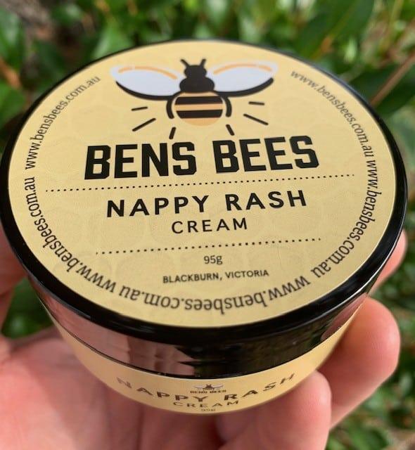 Ben's Bees Beeswax Nappy Rash Cream 95g
