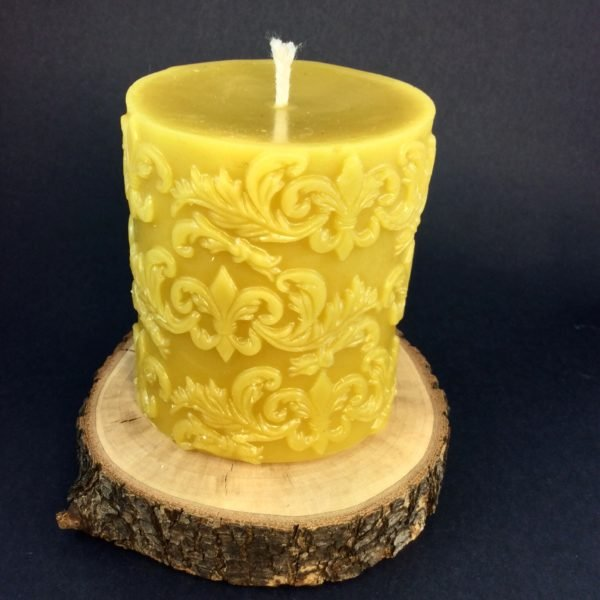 Pure Beeswax Candle For Sale