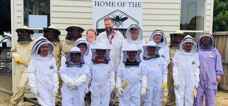 The Tasmanian Junior Beekeepers
