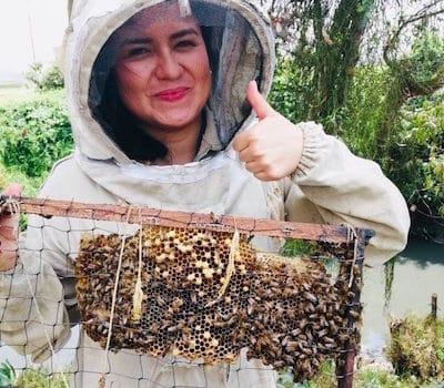 Latina Beekeeper