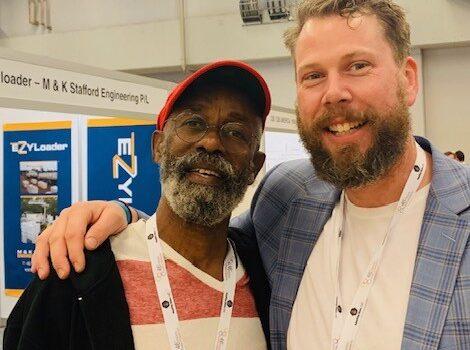 Gladstone Solomon, beekeeper and Bees for Development trustee, Tobago